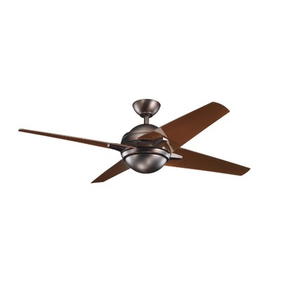 "Kichler 52""Rivetta 4 Blade Ceiling Fan"