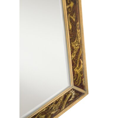 "Kichler 46"" Hand Painted Mirror"