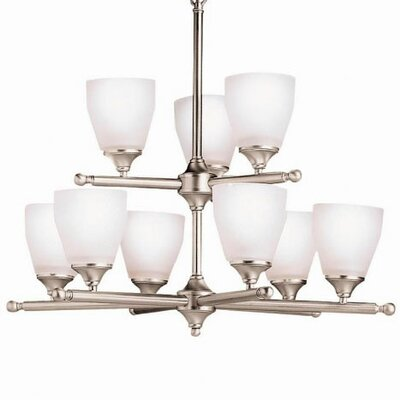 Kichler Ansonia Indoor 9 Light Chandelier