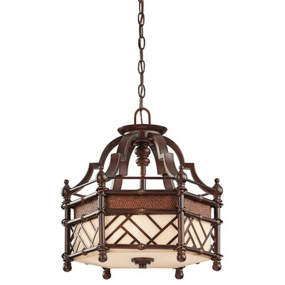 Kichler Rum Cove 4 Light Semi-Flush Pendant