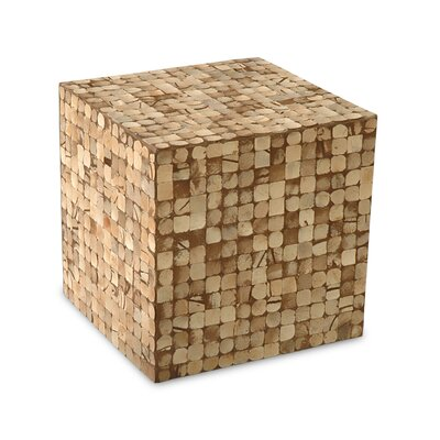 Jeffan Cocoa Cube Ottoman