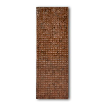 Jeffan Coconut Rectangle Wall Panel