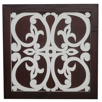 Jeffan Ratu Modern Fretwork Design 1 Wall Decor