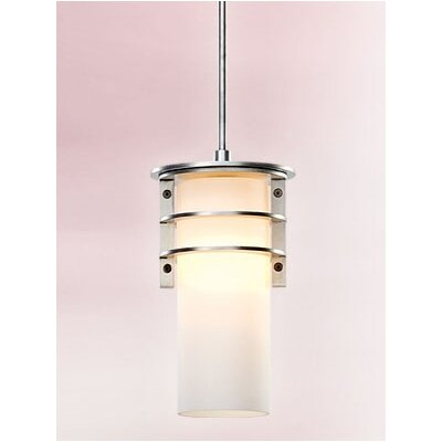 Troy Lighting Vibe  Fluorescent Hanging Lantern in Brushed Aluminum