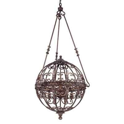 La Paloma 9 Light Entryway Foyer Pendant