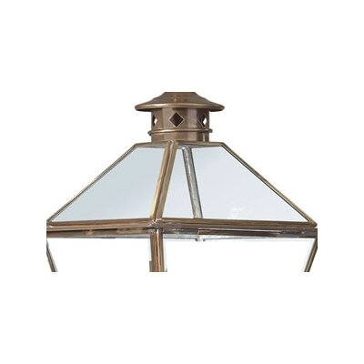 Troy Lighting Montgomery  Glass Top Hanging Lantern