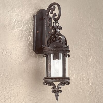 Troy Lighting Pamplona Wall Lantern in Old Bronze