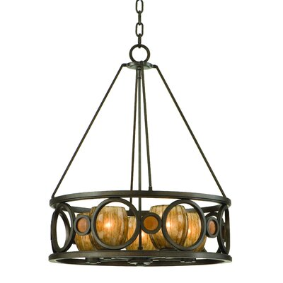 Troy Lighting Soleil 5 Light Foyer Pendant