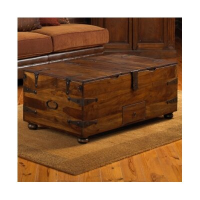 William Sheppee Thakat Trunk Coffee Table amp Reviews Wayfair