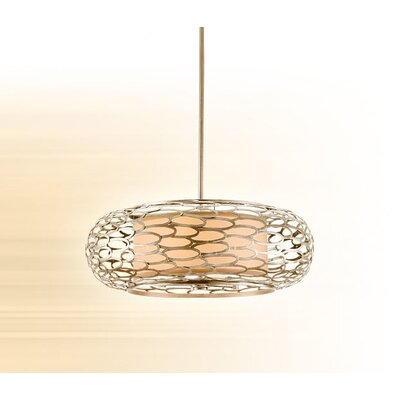 Corbett Lighting Cesto Drum Pendant