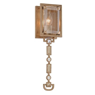 Corbett Lighting Paparazzi Wall Sconce in Topaz Leaf