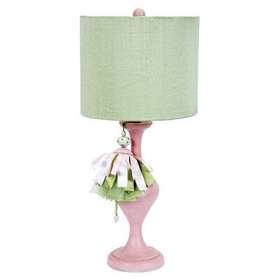 Jubilee Collection Curvature Large Table Lamp with Modern Tower Shade