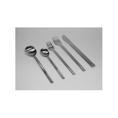 mono Mono-A 20 Piece Flatware Set with Short Blade Table Knife and Giftbox by Peter Raacke