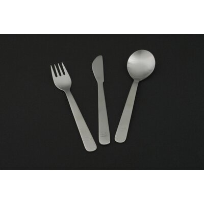 mono Mono Kids Petit Flatware (Set of 3) by Peter Raacke