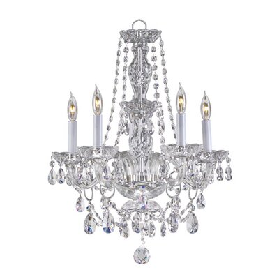 Quorum Bohemian Katerina 5 Light Chandelier