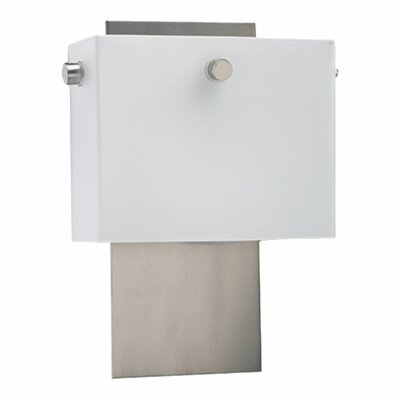 Quorum Flatiron  Wall Sconce in Satin Nickel