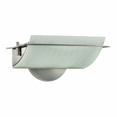 Quorum  Wall Sconce in Satin Nickel