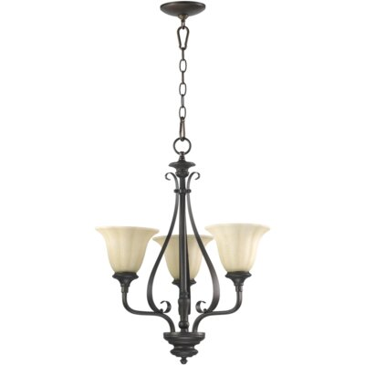 Quorum Randolph 3 Light Chandelier
