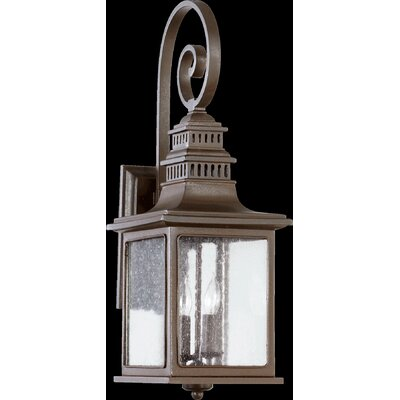 Quorum Magnolia 2 Light Outdoor Wall Lantern