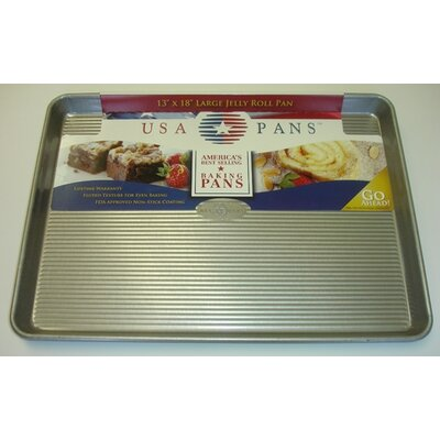 USA Pans Large Jellyroll Pan with Americoat