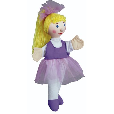The Original Toy Company Ballerina Hand Puppet