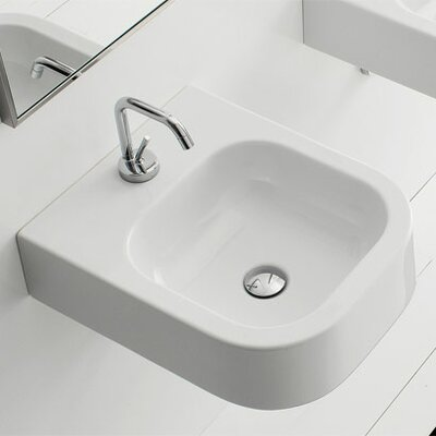 Scarabeo by Nameeks Next Wall Mounted or Above Counter Bathroom Sink