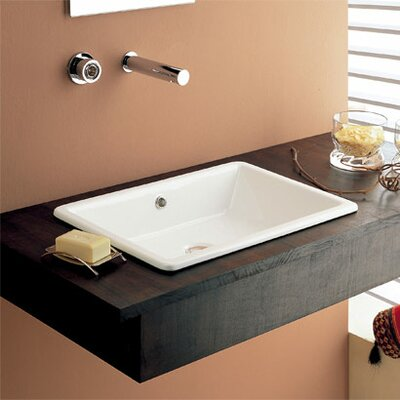 Scarabeo by Nameeks Gaia Built-In Bathroom Sink