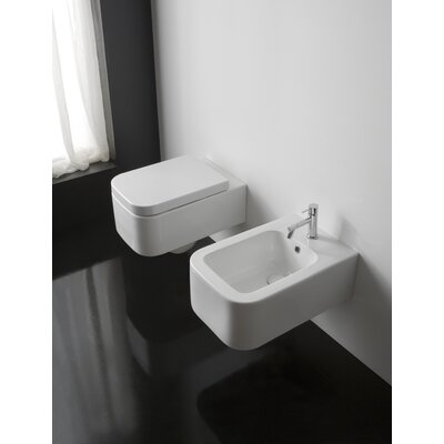 Scarabeo by Nameeks Next Wall Mount Bidet in White