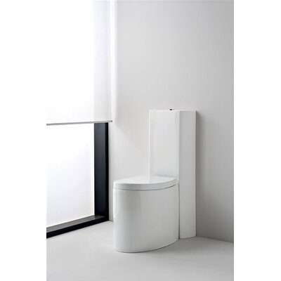 Scarabeo by Nameeks Zefiro Wall Toilet Tank Only