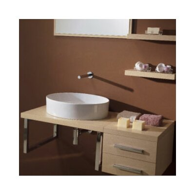 "Scarabeo by Nameeks Brio 29.4"" Wall Mounted Bathroom Vanity Set"