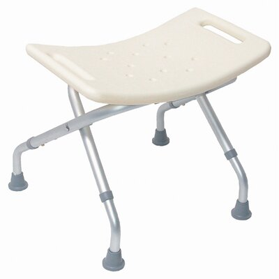 Briggs Healthcare Adjustable Folding Bath Seat without Back Rest