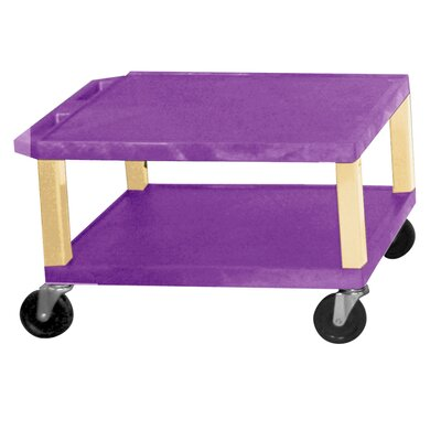 H. Wilson Company Tuffy 16&quot; 2-Shelf Utility Cart