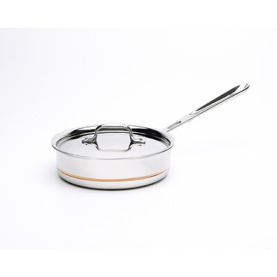 All-Clad Copper-Core Saute Pan with Lid