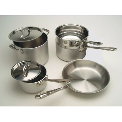 All-Clad Master Chef 2 9-Piece Cookware Set