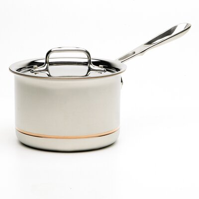 All-Clad Copper-Core Saucepan with Lid
