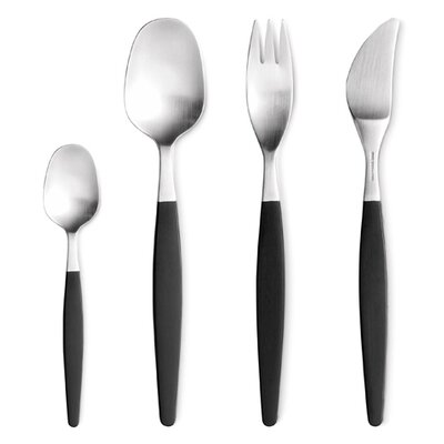 Gense Focus De Luxe 4 Piece Flatware Set