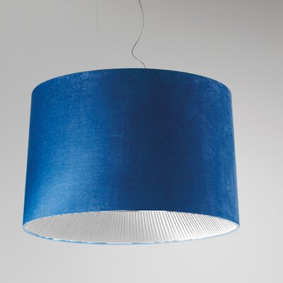 Axo Light Velvet Drum Pendant
