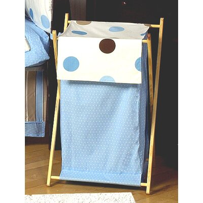 Sweet Jojo Designs Mod Dots Blue Collection Laundry Hamper