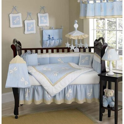 Sweet Jojo Designs Blue Dragonfly Dreams Crib Bedding Collection