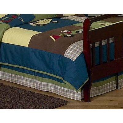 Sweet Jojo Designs Construction Collection Toddler Bed Skirt