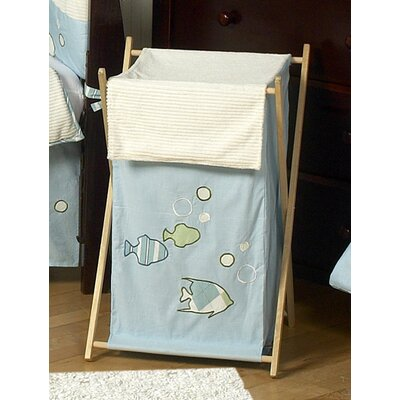 Sweet Jojo Designs Go Fish Collection Laundry Hamper