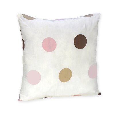 Sweet Jojo Designs Mod Dots Pink Collection Decorative Pillow