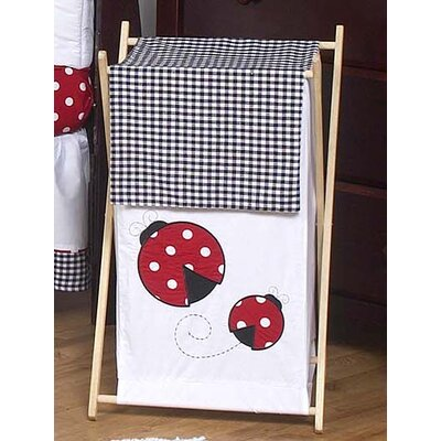 Sweet Jojo Designs Little Ladybug Collection Laundry Hamper