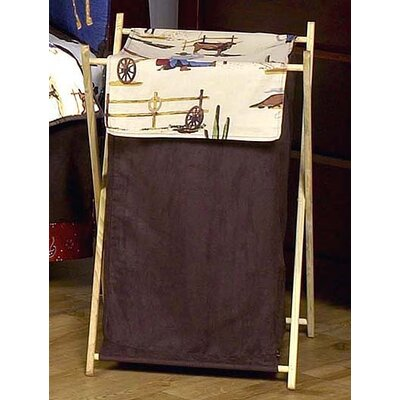 Sweet Jojo Designs Wild West Cowboy Laundry Hamper