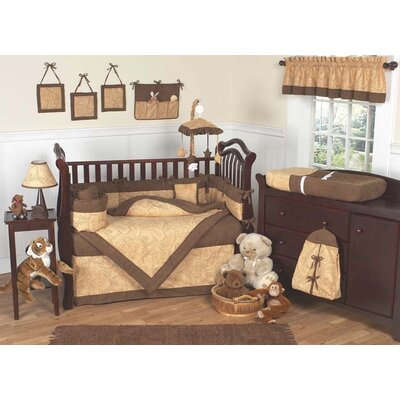 Sweet Jojo Designs Camel Paisley Crib Bedding Collection