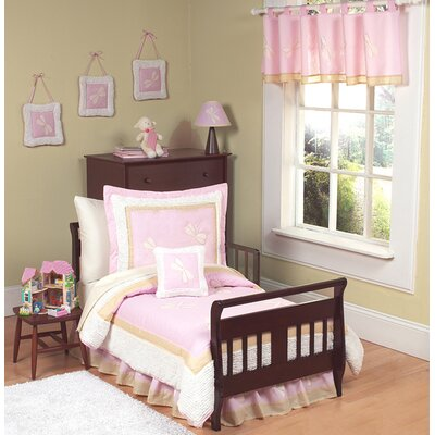 Sweet Jojo Designs Pink Dragonfly Dreams Toddler Bedding Collection