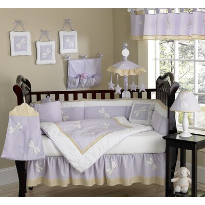 Sweet Jojo Designs Purple Dragonfly Dreams Crib Bedding Collection