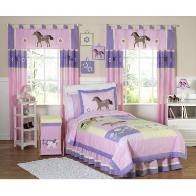 Sweet Jojo Designs Pony Kid Bedding Collection