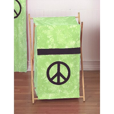 Sweet Jojo Designs Peace Laundry Hamper