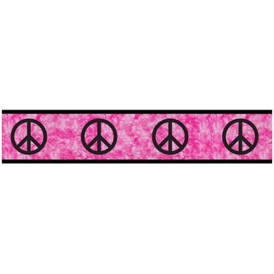 Peace Pink Collection Wall Paper Border